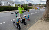 In Richmond Borough of London three e-scooter manufacturers are active: Lime, Tier and Dott