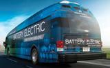 Proterra electric bus revealed 350 mile range
