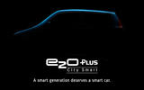 Mahindra teases four-door e2o Plus electric model