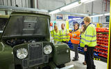 Restored reborn Land Rover Series 1