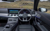 Mercedes-AMG E53 4Matic+ 2018 first drive review steering wheel