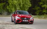 Mercedes-AMG E63 S drifting