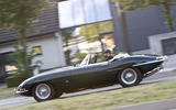 Jaguar E-Type road trip - side