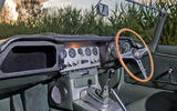 Jaguar E-Type road trip - interior