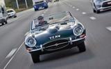 Jaguar E-Type road trip - nose