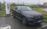 Mercedes-Benz EQC charging
