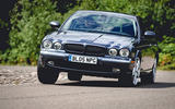 2005 Jaguar XJ - cornering