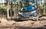 Ford Edge in mud