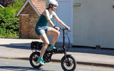 The Perry Ehopper claims to be the  lightest electric folding bike on the market, at 14kg