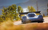 Volkswagen ID electric racer at Pikes Peak