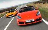 Porsche 718 Boxster S vs Lotus Elise