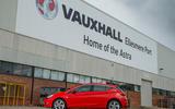 Vauxhall Ellesmere factory Astra VXR