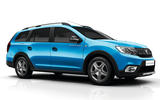 Dacia Logan MCV Stepway from front