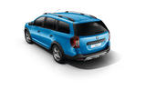 Dacia Logan MCV Stepway from back