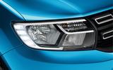 Dacia Logan MCV Stepway headlight