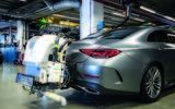 Mercedes-Benz CLS emissions testing