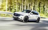 New Mercedes EQB render