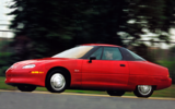 GM EV1 driving shot