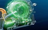 BMW iFE electric motor cutaway