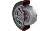 EV wheel-mounted Axial Flux motor cutaway