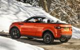 Land Rover Evoque Convertible rear
