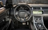 Land Rover Evoque Convertible dashboard