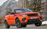 3.5 star Land Rover Evoque Convertible