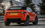 Land Rover Evoque Convertible roof up