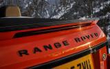 Land Rover rear badging