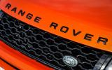 Land Rover Evoque Convertible front grille