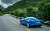Jaguar F-Type rear