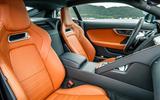 Jaguar F-Type front seats