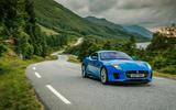 Jaguar F-Type cornering