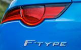 Jaguar F-Type badging