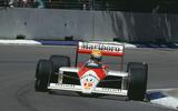 Ayrton Senna McLaren-Honda Formula 1