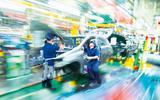Toyota assembly line