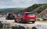 Skoda Octavia vRS estate vs. Seat Leon ST Cupra vs. Volvo V60 AWD Polestar - fast estate triple test