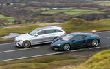 McLaren 570GT vs Volkswagen Golf GTI vs Mercedes-Benz E-Class Estate: road test of the year