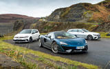McLaren 570GT vs Volkswagen Golf GTI vs Mercedes-Benz E-Class Estate