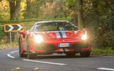 Ferrari 488 Pista 2018 UK first drive review - hero front