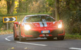 Ferrari 488 Pista 2018 UK first drive review - hero front