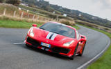 Ferrari 488 Pista 2018 UK first drive review - on the road