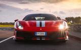 Ferrari 488 Pista 2018 UK first drive review - nose
