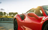 Ferrari 488 Pista 2018 UK first drive review - side aero