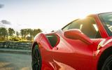 Ferrari 488 Pista 2018 UK first drive review - side aero