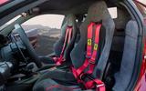 Ferrari 488 Pista 2018 UK first drive review - seats