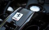 Ferrari 488 Pista 2018 UK first drive review - engine cover