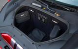 Ferrari 488 Pista 2018 UK first drive review - boot