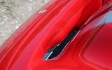 Ferrari 488 Pista 2018 UK first drive review - bonnet aero