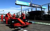 Ferrari Australia 2020 test